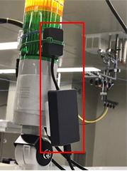 照度センサー設置例