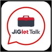 通知チャット(JIGlet Talk)